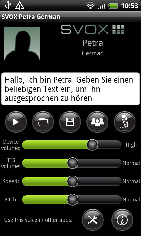 svox german petra voice
