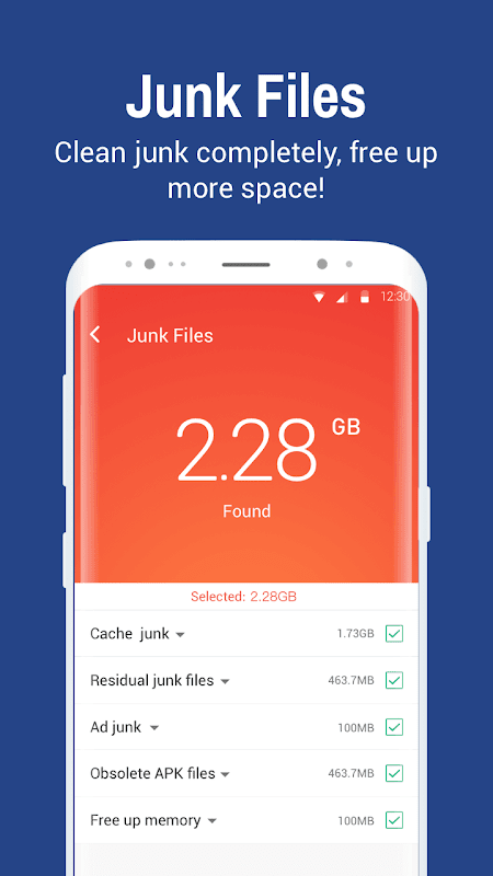 Clean Master- Space Cleaner & Antivirus & Free Ram screenshot 1