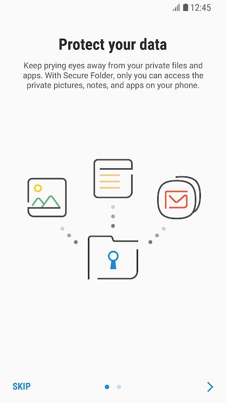 Secure Folder screenshot 1