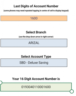 JK Bank 16 Digit Account Maker 1 0 Download APK for Android