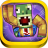 3D Blocks Skins Running Plants vs Zombies Run Fun Games