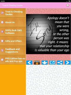 تحميل APK لأندرويد - آبتويد Trust & Cheating Status Images