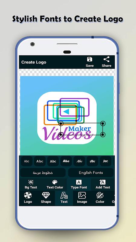 Logo Maker - Logo Creator & Poster Maker screenshot 2