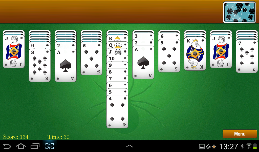spider solitaire deutsch