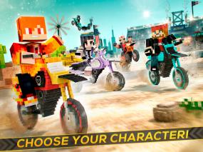 Dirtbike Survival Block Motos Screenshot