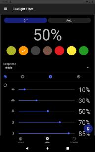 Bluelight Filter for Eye Care - Auto screen filter screenshot 11