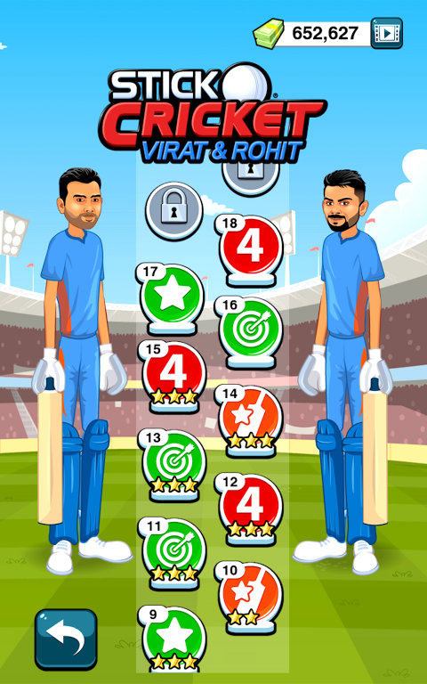 Stick Cricket Virat & Rohit screenshot 2