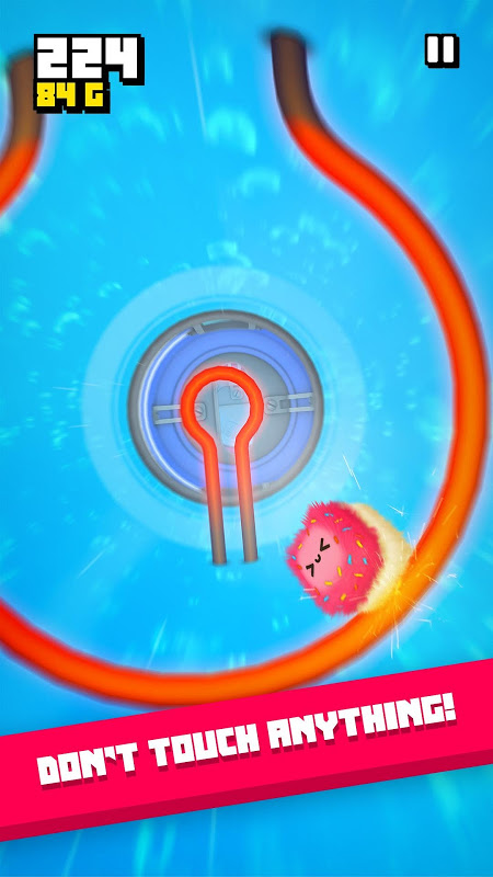 Fluffy Fall: Fly Fast to Dodge the Danger! screenshot 2