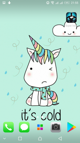 Kawaii Unicorn Wallpapers Cute Background Screenshot 8