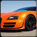 Bugatti car racing simulator
