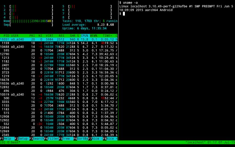Termux screenshot 3