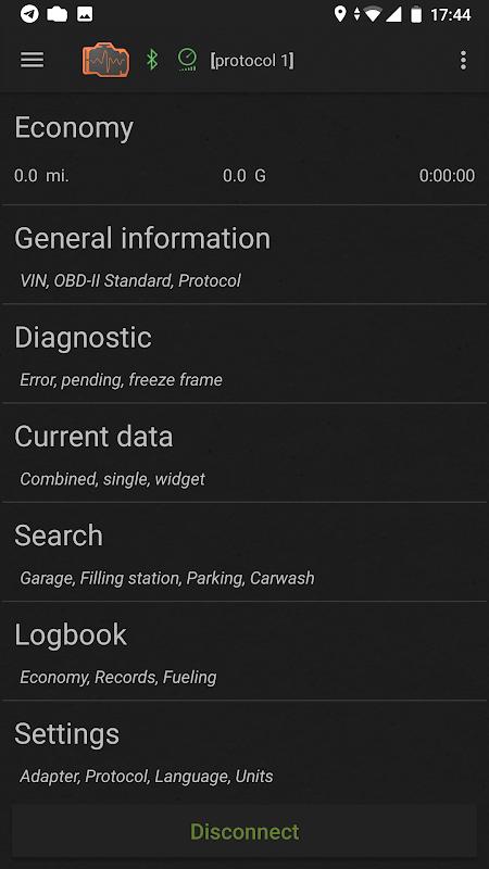 inCarDoc Pro | ELM327 OBD2 screenshot 1