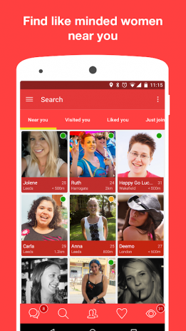 lesbian only dating sites