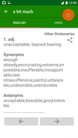 Offline Eng Hindi Dictionary 2 0 1 Download APK for Android - Aptoide