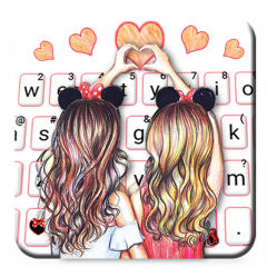 best friend forever keyboard theme 1 0 download apk for android