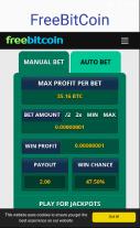 FreeBitcoin 2.0 Screenshot