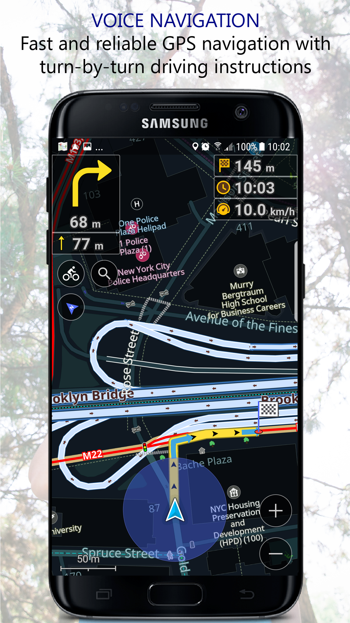 Navigator PRO: Offline GPS Maps screenshot 2