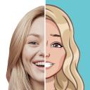 Mirror Stickers & Criador de Facial Emoji e Avata