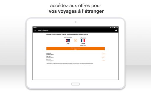 Orange et moi France screenshot 16