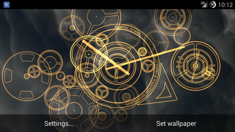 Hypno Clock Live Wallpaper Free 161 Download Apk For Android Aptoide