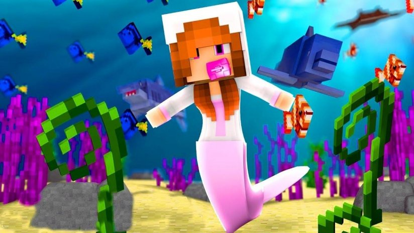 Mermaid Skins For Minecraft PE Free Download APK For Android - Descargar skins para minecraft pe android gratis