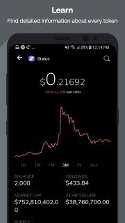 Tokens - Ethereum Portfolio Tracker & ICO News screenshot 2