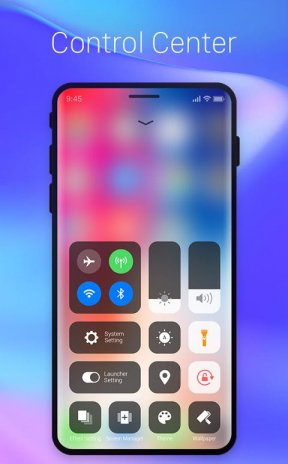 iphone x theme download for android mobile