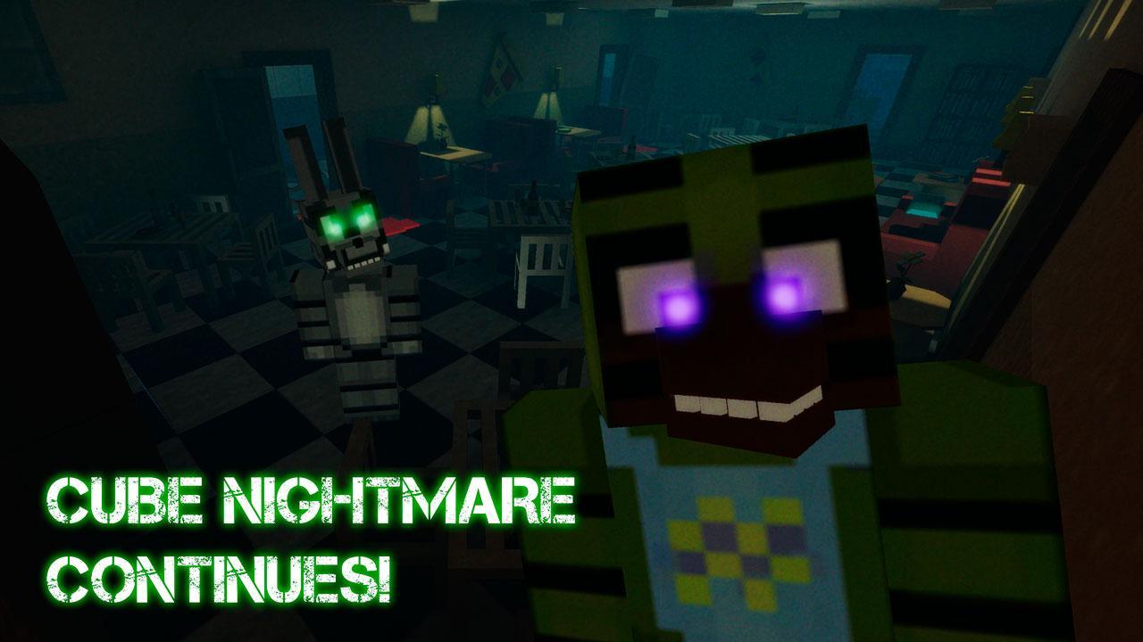 Nights at Cube Pizzeria 3D – 4 screenshot 1
