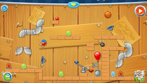 Rube's Lab - Physics Puzzle screenshot 5