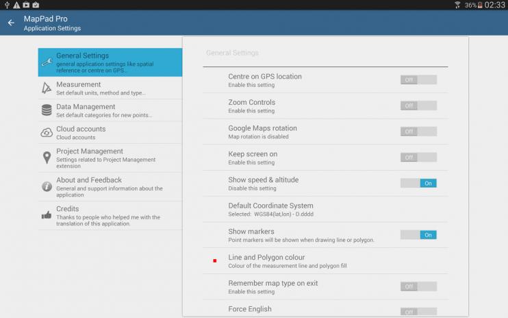Android Entfernungsmesser Gps : Mappad pro gps landevermessung 5.7.8 laden sie apk für android