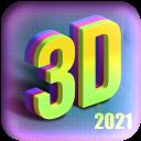 3d parallax wallpaper hd/4K background 2021