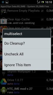 SystemCleanup screenshot 1