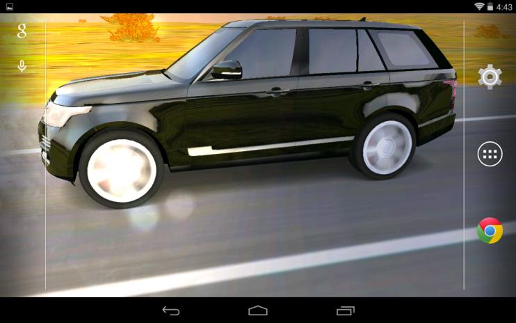 3d Car Live Wallpaper Screenshot 5
