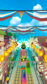 Subway Princess Surf - Endless Run screenshot 9