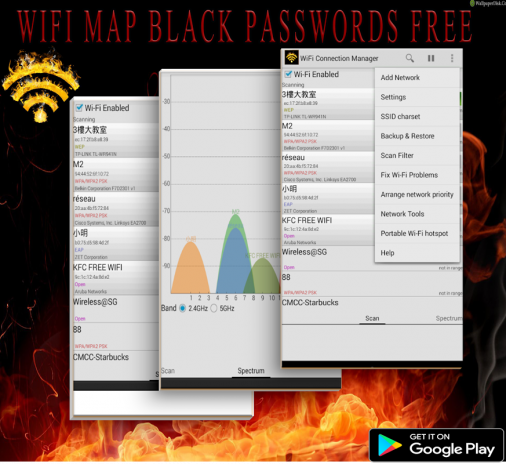 wifi map password and places apk