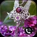 Purple Diamond. Theme for CM Launcher