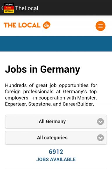 jobs in germany berlin download apk for android aptoide. Black Bedroom Furniture Sets. Home Design Ideas