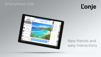 Lonje - anonymous chat with photo and video Screen