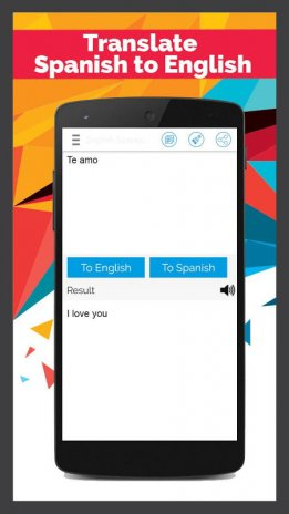 Spanish English Translator Best Translator Download APK for Android