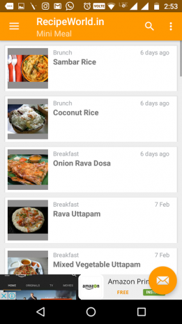 Free indian recipes app 10 download apk for android aptoide free indian recipes app screenshot 3 forumfinder Choice Image