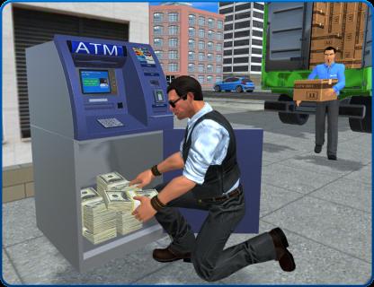 Bank Cash-in-transit Security Van Simulator 2018 screenshot 5