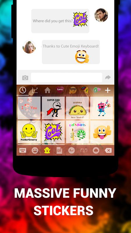 Emoji keyboard cute emoji