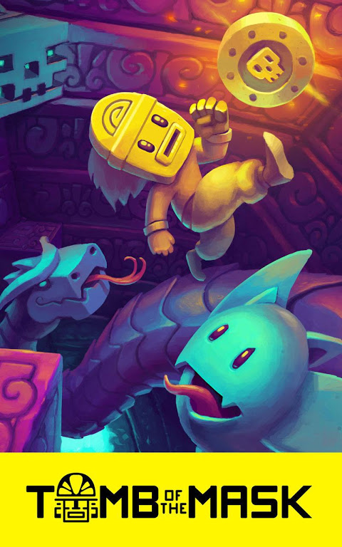 Tomb of the Mask screenshot 1
