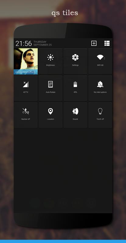 LessUgly Blue CM13/12.x Theme screenshot 1