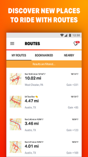 Map My Ride GPS Cycling Riding screenshot 5