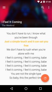QuickLyric - Instant Lyrics screenshot 2