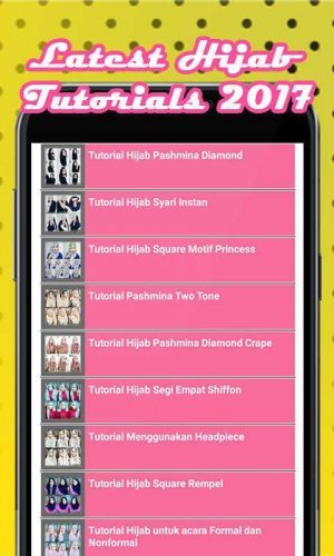 Tutorial Hijab 2018 Terbaru 1 2 Telecharger Apk Android Aptoide