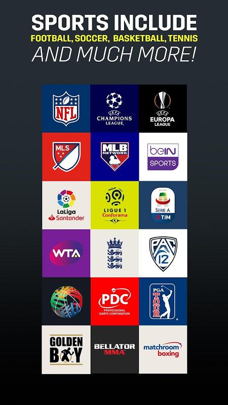 DAZN Esportes ao vivo: Futebol, e muito mais screenshot 2