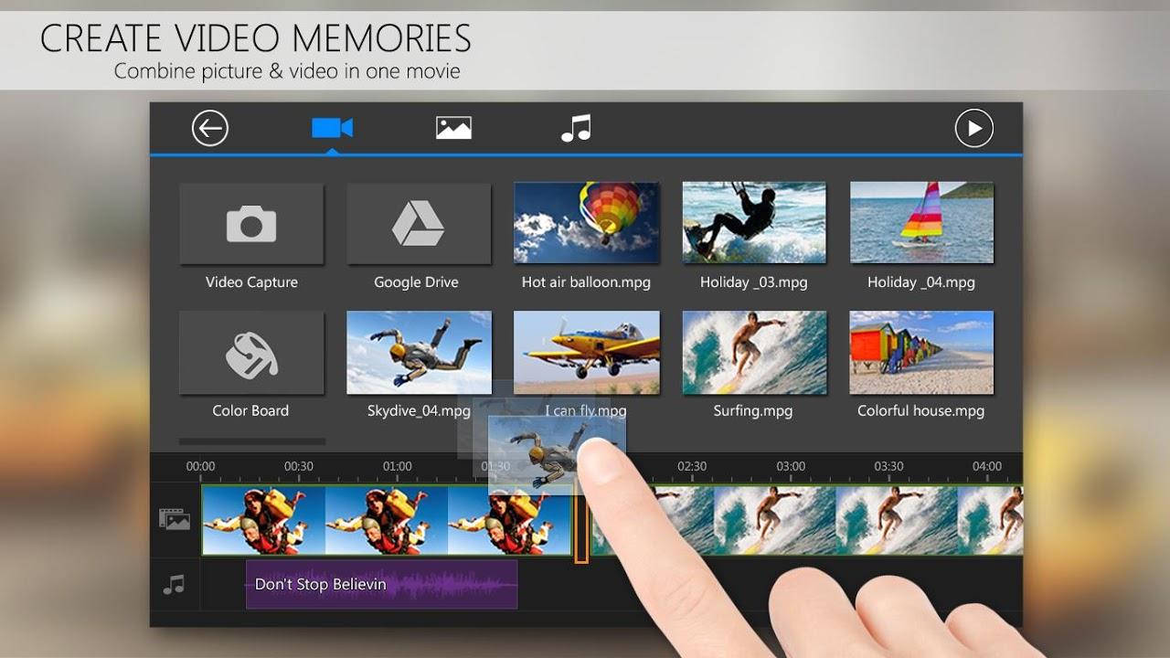 PowerDirector Video Editor App: 4K, Slow Mo & More screenshot 4