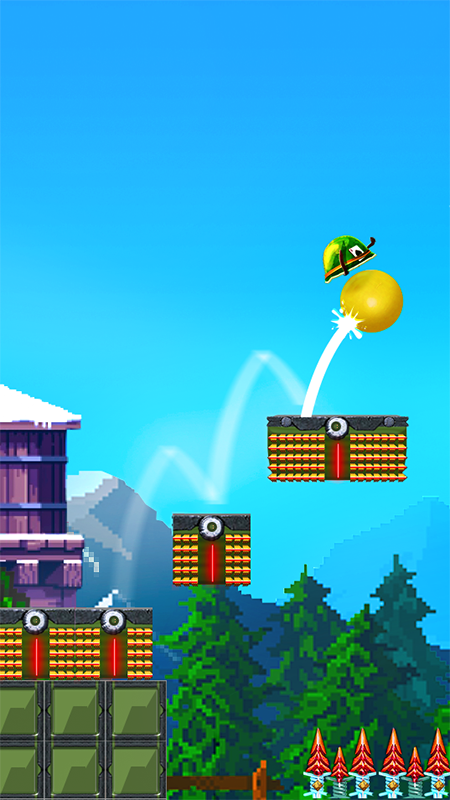 Helmetball - Jump and Run Platformer screenshot 1
